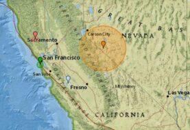Un terremoto de 5,7 grados sacude el estado de Nevada