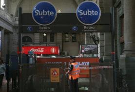 Miles de usuarios afectados por huelga de empleados del metro de Buenos Aires