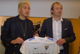 El delantero venezolano Adalberto Peñaranda, nuevo jugador del Málaga
