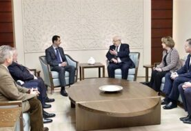 Polémica reunión en Damasco de tres diputados franceses con Bachar al Assad