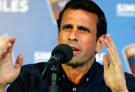 Capriles ve como una excusa suspender el diálogo por extradición de Álex Saab