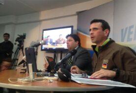 Capriles fue multado por Contraloría y dice se allana ruta para inhabilitarlo