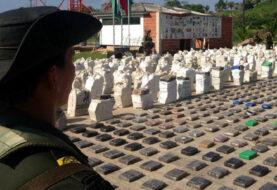 Policía colombiana incauta 4 toneladas de cocaína en México y Centroamérica