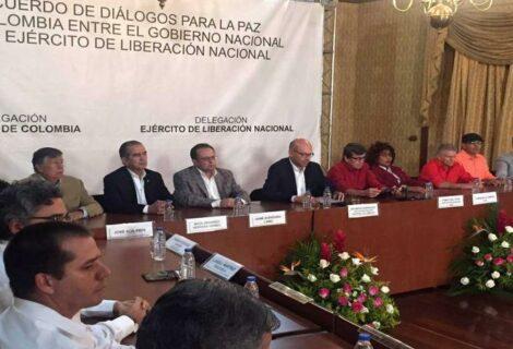 Comentarios positivos de Gobierno Colombia y ELN tras segundo día de reuniones