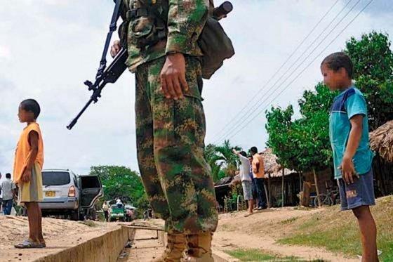 Las FARC no han querido entregar a los menores guerrilleros según Gobierno