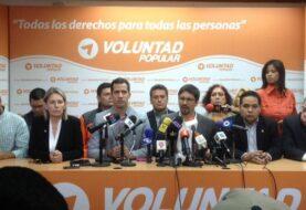 """Voluntad Popular presenta """"ruta"""" para concretar abandono de cargo de Maduro"""