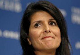 Senado de EEUU confirma a Nikki Haley como próxima embajadora ante la ONU
