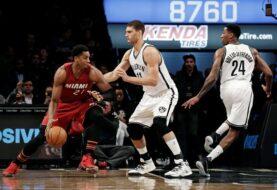 Heat logró victoria sufrida ante Nets de visitante