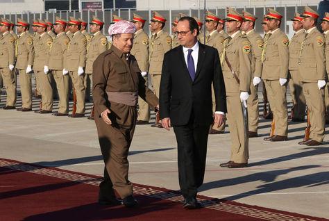 Una oleada de atentados sacude Bagdad durante la visita de Holande