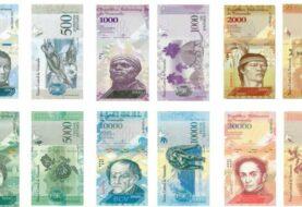 Nueva familia de billetes circulará desde el lunes en Venezuela, según Maduro