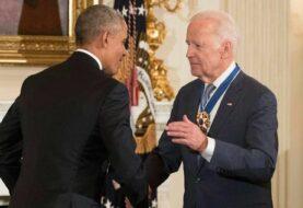 Obama concede por sorpresa a Biden la Medalla de la Libertad de EE.UU.