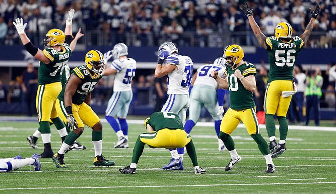 Packers y Steelers se unen a Falcons y Patriots en Finales Conferencias