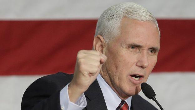 Juez de la Corte Suprema jurará el cargo de Pence como vicepresidente de EEUU
