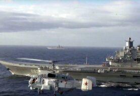 Rusia comienza el repliegue de sus fuerzas en Siria con retirada portaaviones