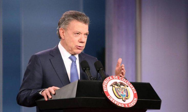 Santos dice que tras paz con las FARC esfuerzos irán a seguridad ciudadana