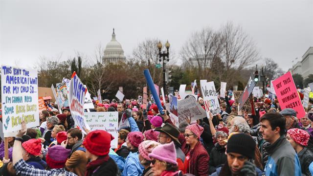 Protesta contra Trump fue la mayor en la historia de EEUU según investigadora