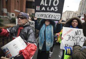 Unas 2000 personas marchan en Washington contra política migratoria de Trump