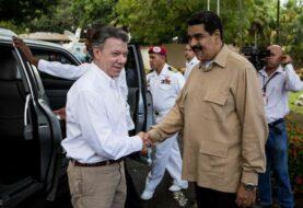 """Maduro dice que construirá con Santos una frontera """"sana"""" y """"armónica"""""""