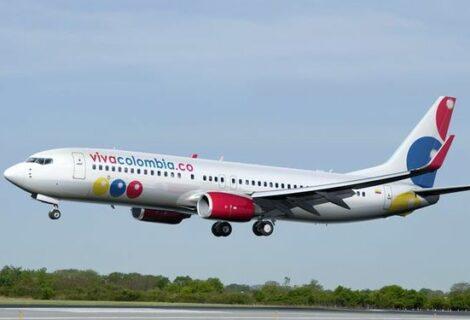 Aerolínea VivaColombia transportó 3,4 millones de pasajeros en 2016
