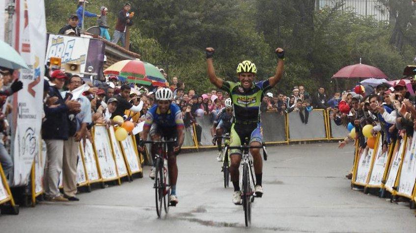 Jackson Rodríguez gana la segunda etapa de la Vuelta al Táchira