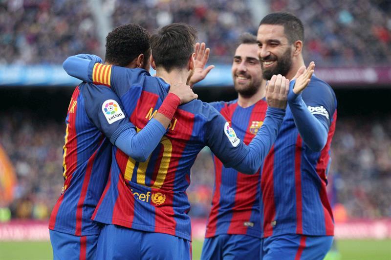 Barcelona sin despeinarse goleó al Athletic