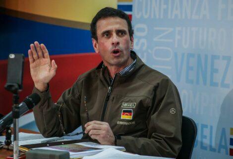 Capriles dice que nunca firmó con Odebrecht y pide investigar a chavismo