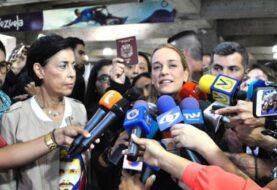 Lilian Tintori dice que Shannon aseguró que diálogo en Venezuela fracasó