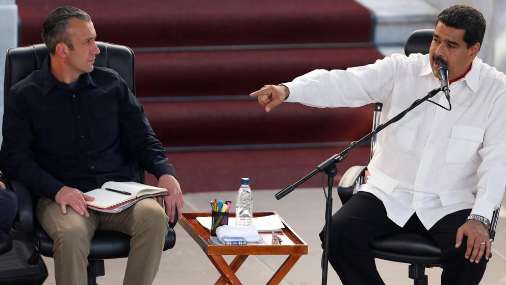 Maduro exige a EE.UU. que se retracte de acusaciones contra su vicepresidente