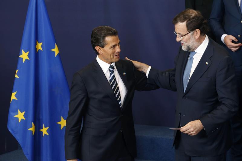 Peña Nieto agradece a Rajoy la solidaridad de España con México ante Trump