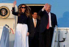 Trump regresa a Palm Beach con el primer ministro japonés
