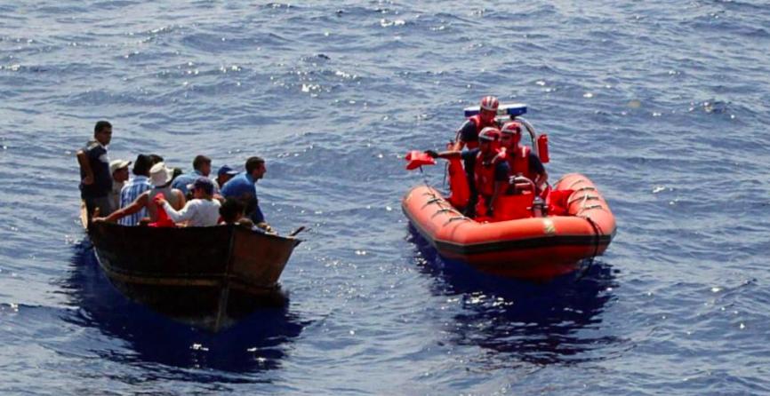 EE.UU. rescata a 26 cubanos en Cayos de Florida