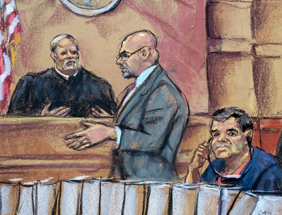 Fiscalía tendrá un mes para replicar petición del Chapo de repetir su juicio