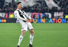 Multado Cristiano Ronaldo por gesto obsceno