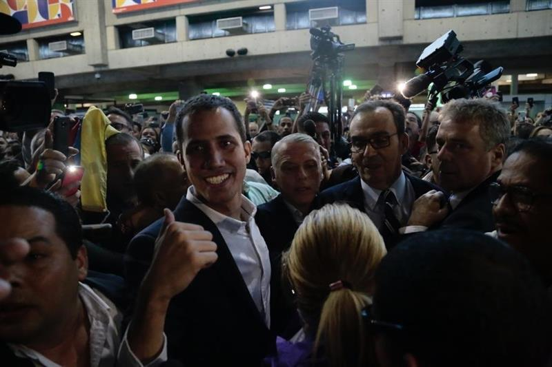 Guaidó vuelve a Venezuela