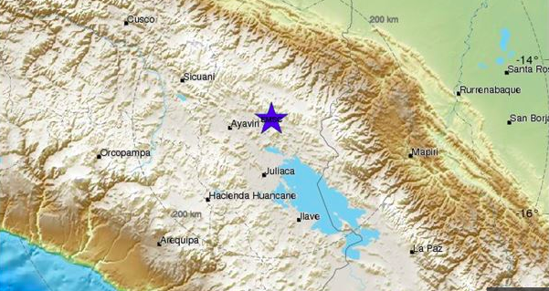 Muerto y un herido deja terremoto en Perú