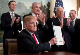 Trump firma decreto que reconoce la soberanía israelí en los Altos del Golán