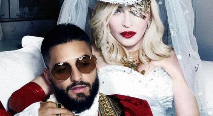 """Madonna estrena junto al colombiano Maluma su videoclip """"Medellín"""""""