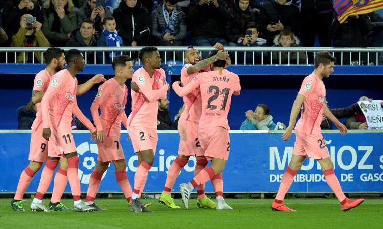 Barcelona a un paso del título