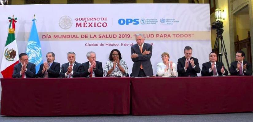 AMLO anuncia creación del Instituto Nacional de Salud de México