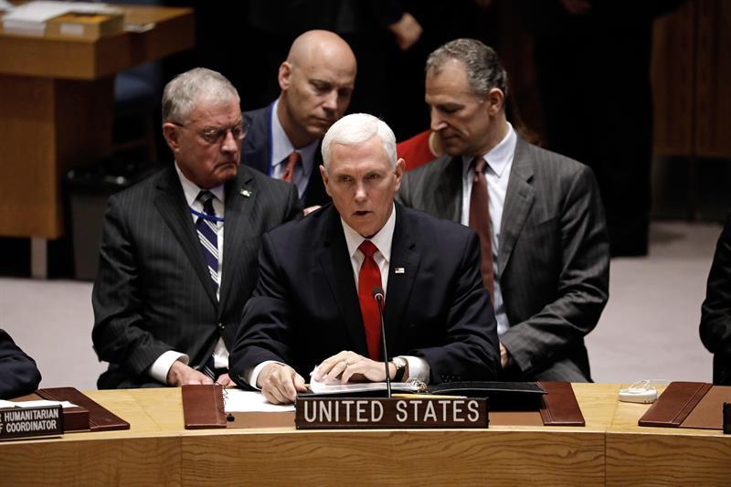 EE.UU. pide a la ONU que reconozca a Guaidó como Presidente de Venezuela