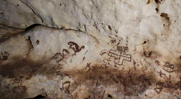 Encuentran más cuevas con pinturas rupestres en México
