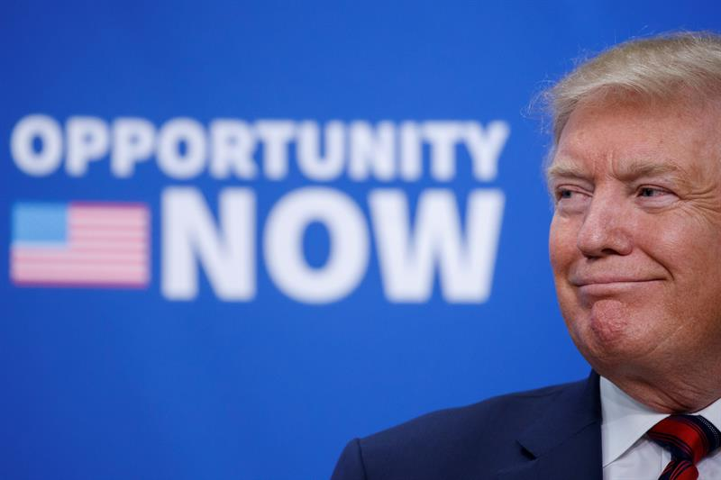 Fiscal general asegura que Trump no obstruyó la justicia sobre la trama rusa