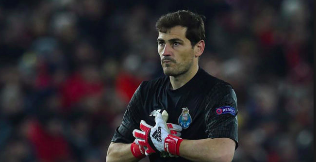Iker Casillas sufre infarto y está fuera de peligro