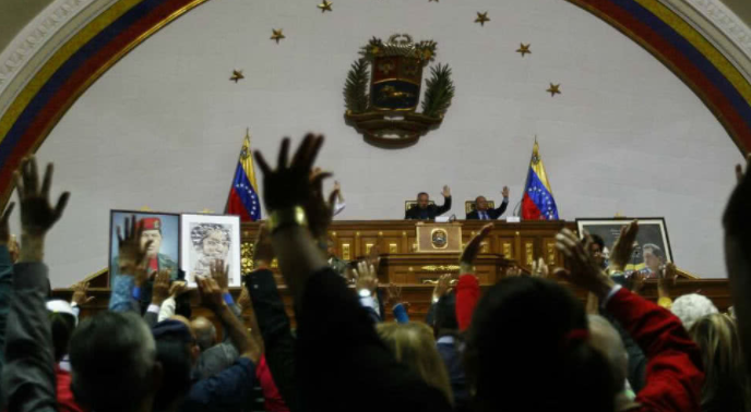 Asamblea constituyente allana la inmunidad parlamentaria de siete diputados venezolanos