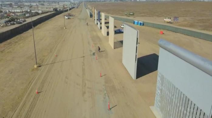 Demócratas y ecologistas de EE.UU. piden a los jueces parar el muro de Trump