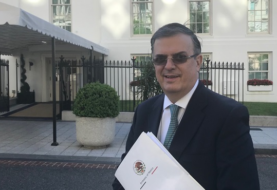 Canciller mexicano inicia negociaciones con EEUU sobre tema aranceles