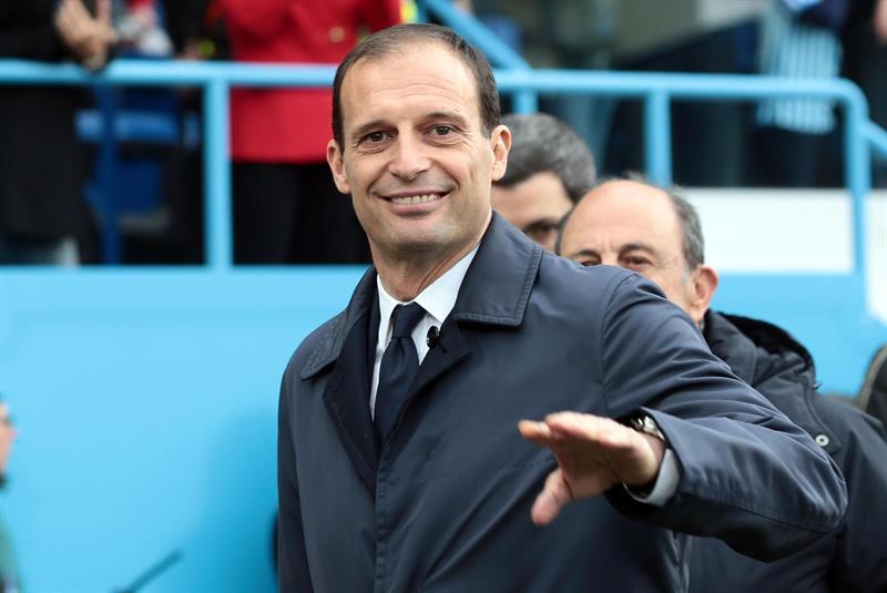 Allegri no seguirá en el Juventus la próxima temporada