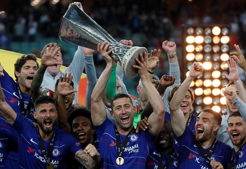 Chelsea se coronó campeón de la Europa League