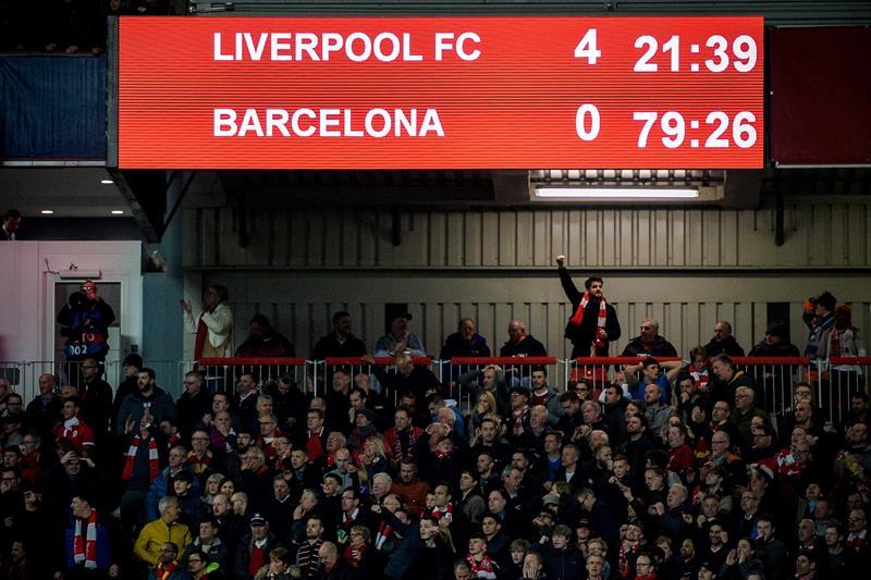 Liverpool remonta al Barcelona y se clasifica para la final