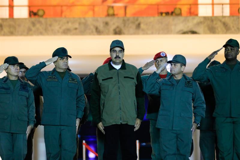 Maduro aparece en cadena nacional exigiendo lealtad de la FANB